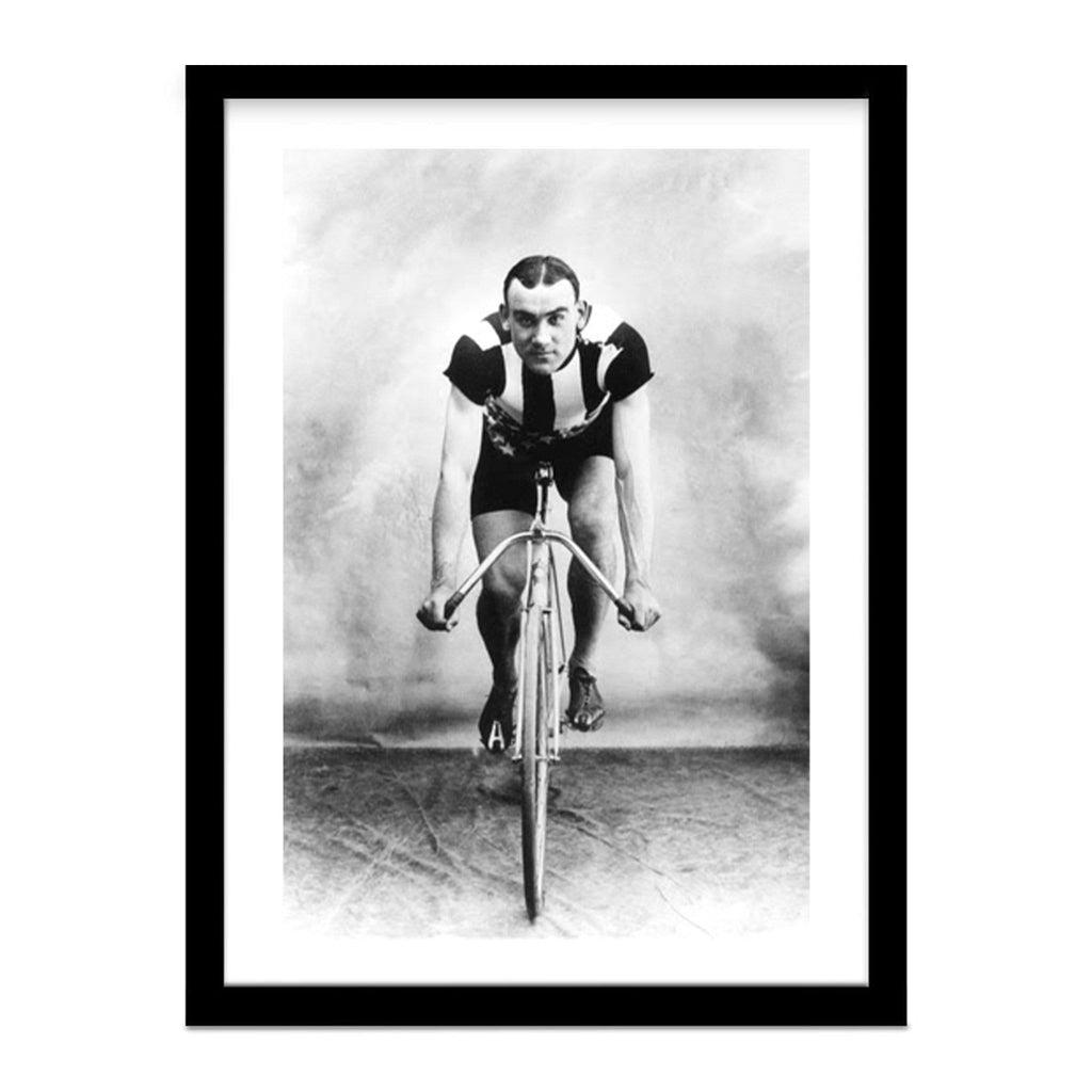 Vintage Cycling Framed Photo Owen Kimble