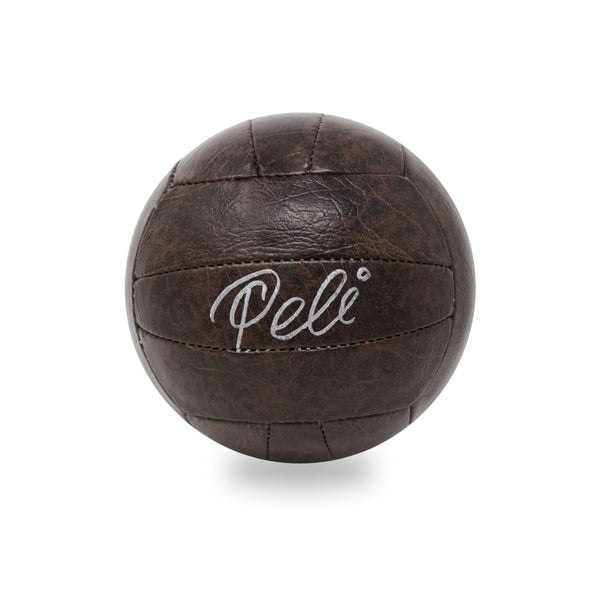 Pele Hand Signed Leather Ball