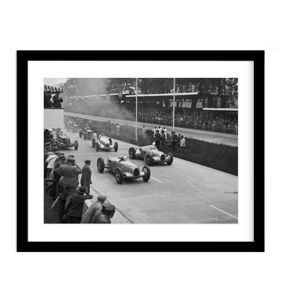 Tazio Nuvolari Wins The German Grand Prix