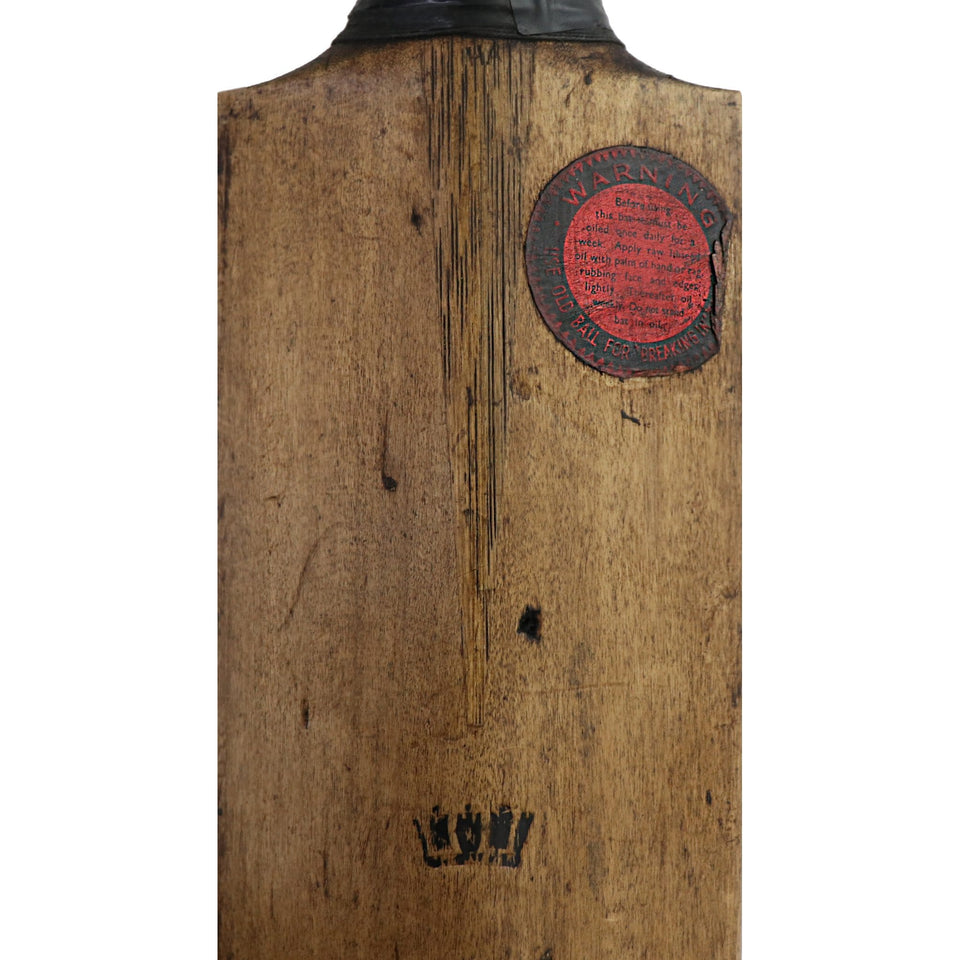 Vintage Cricket Bat The Crown Circa 1920s