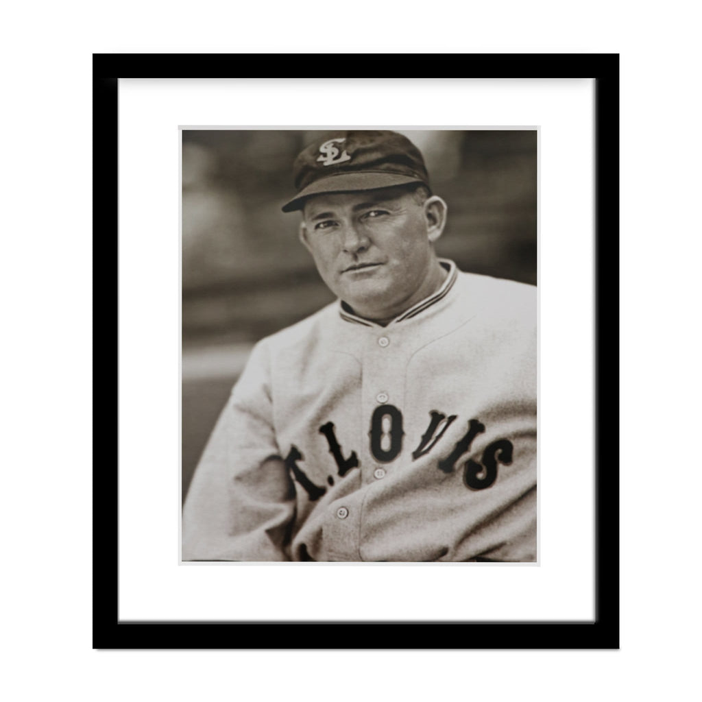 Rogers Hornsby Hall of Fame Framed