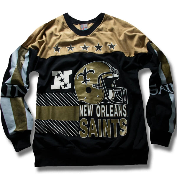 Vintage New Orleans Saints Sweater