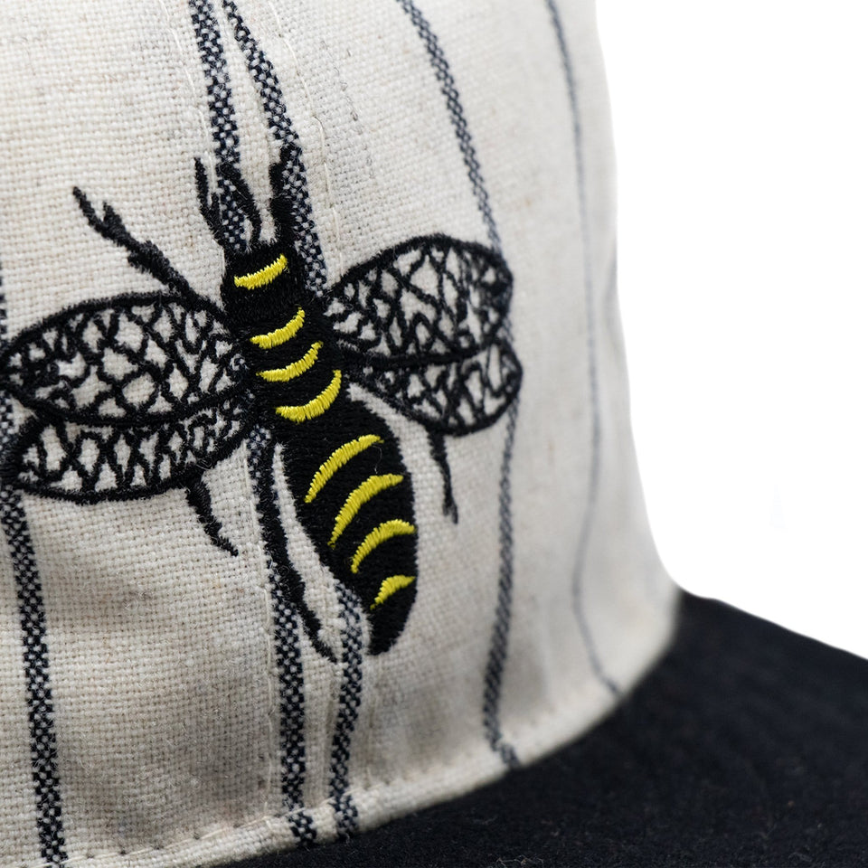 Salt Lake bees vintage baseball cap 1925 Detail
