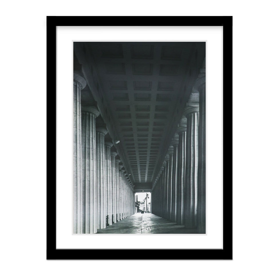 Historic Soldier Field Framed Photo
