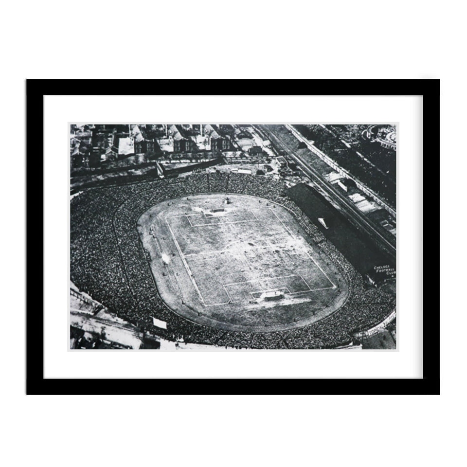 Stamford Bridge Hosts the 1922 F.A. Cup Final