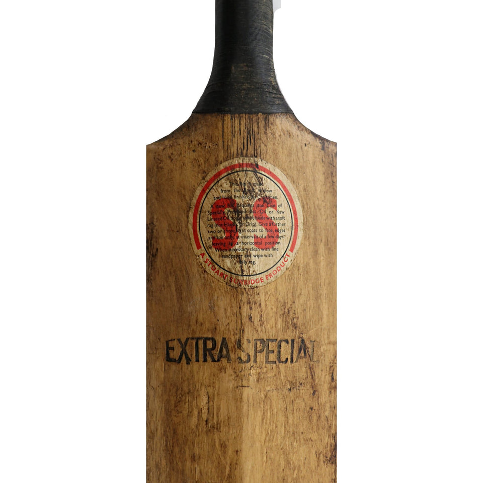 Vintage Cricket Bat Stuart Surridge 'Perfect' Wellington 1960
