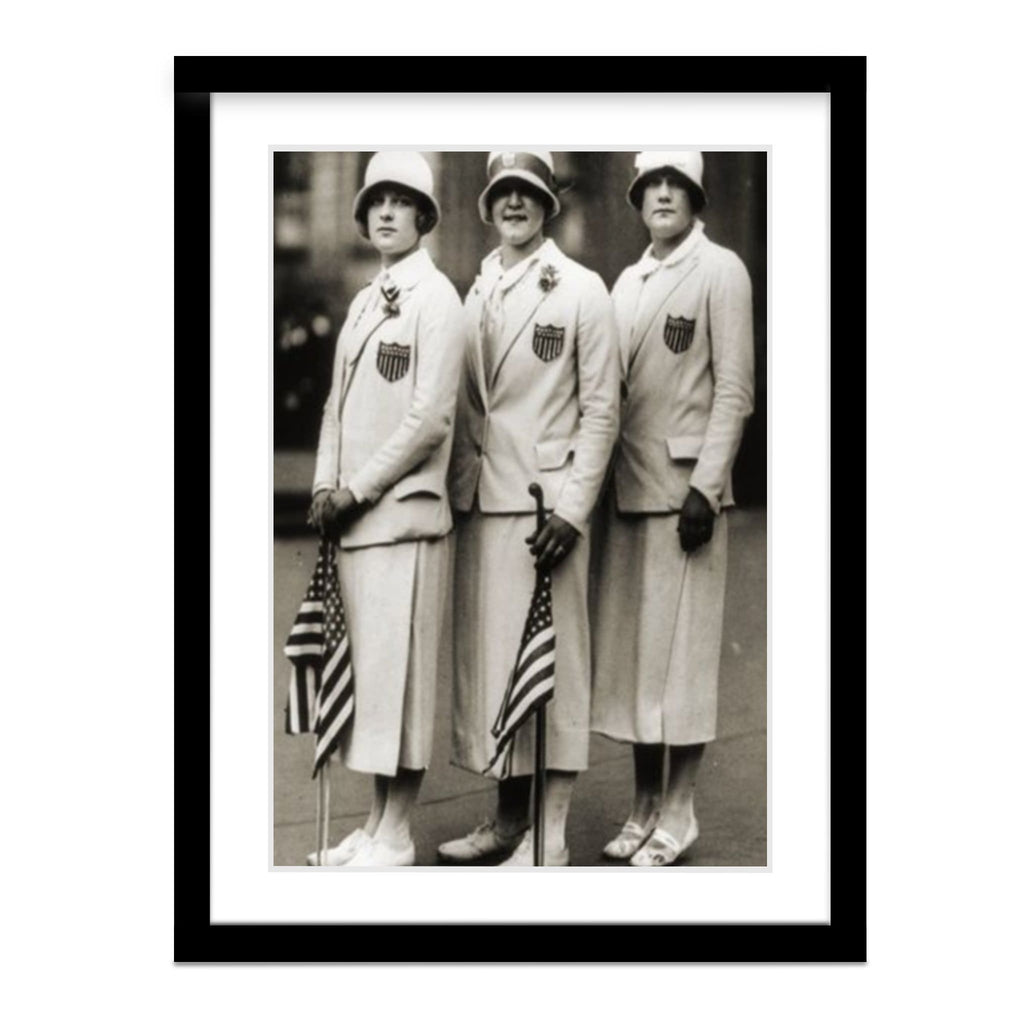 Aileen Riggin, Gertrude Ederle, & Helen Wainwright Compete in 1924 Olympics