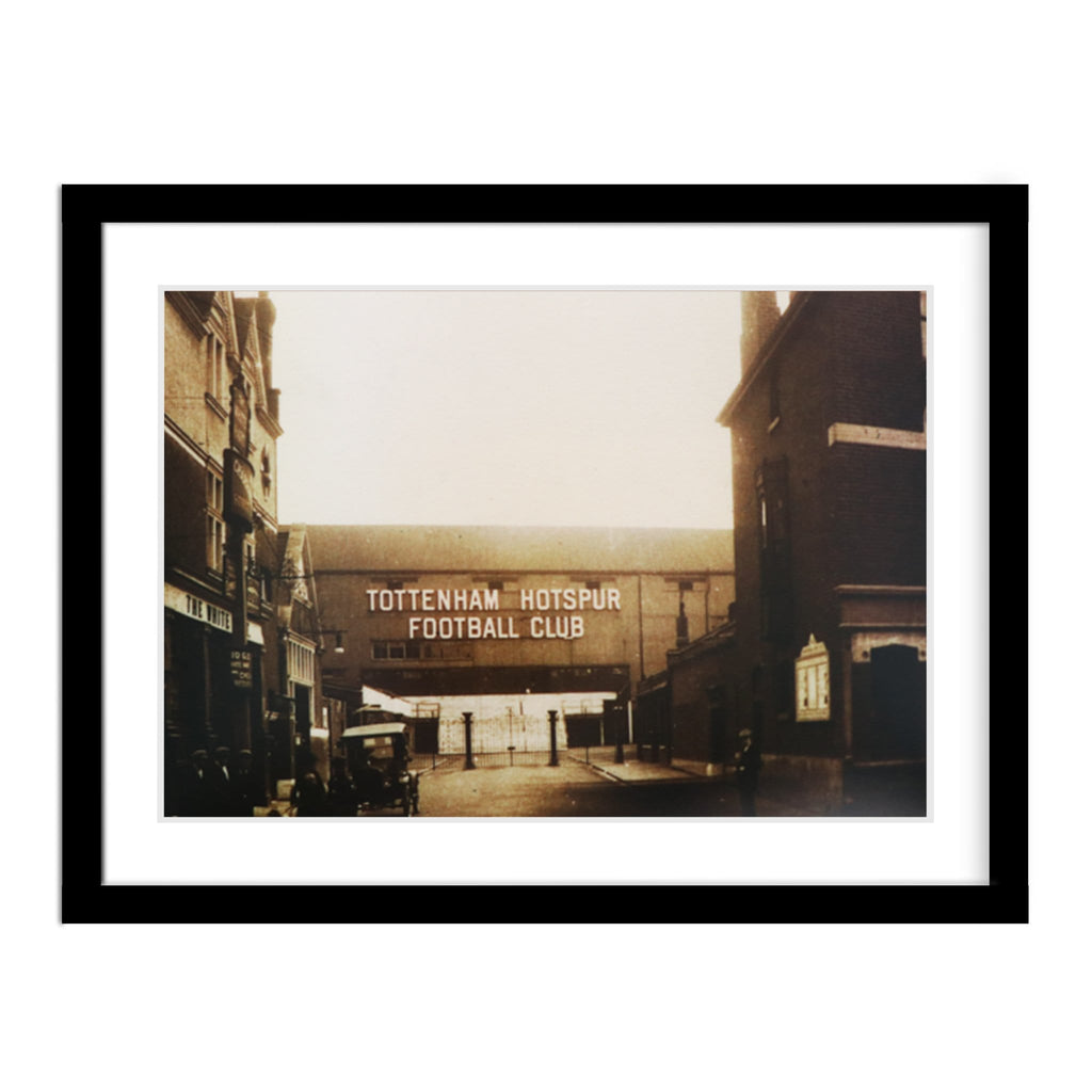Tottenham Hotspur Home Grounds Vintage Framed Photo