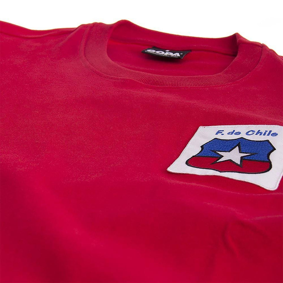 1974 Chile World Cup Jersey Front
