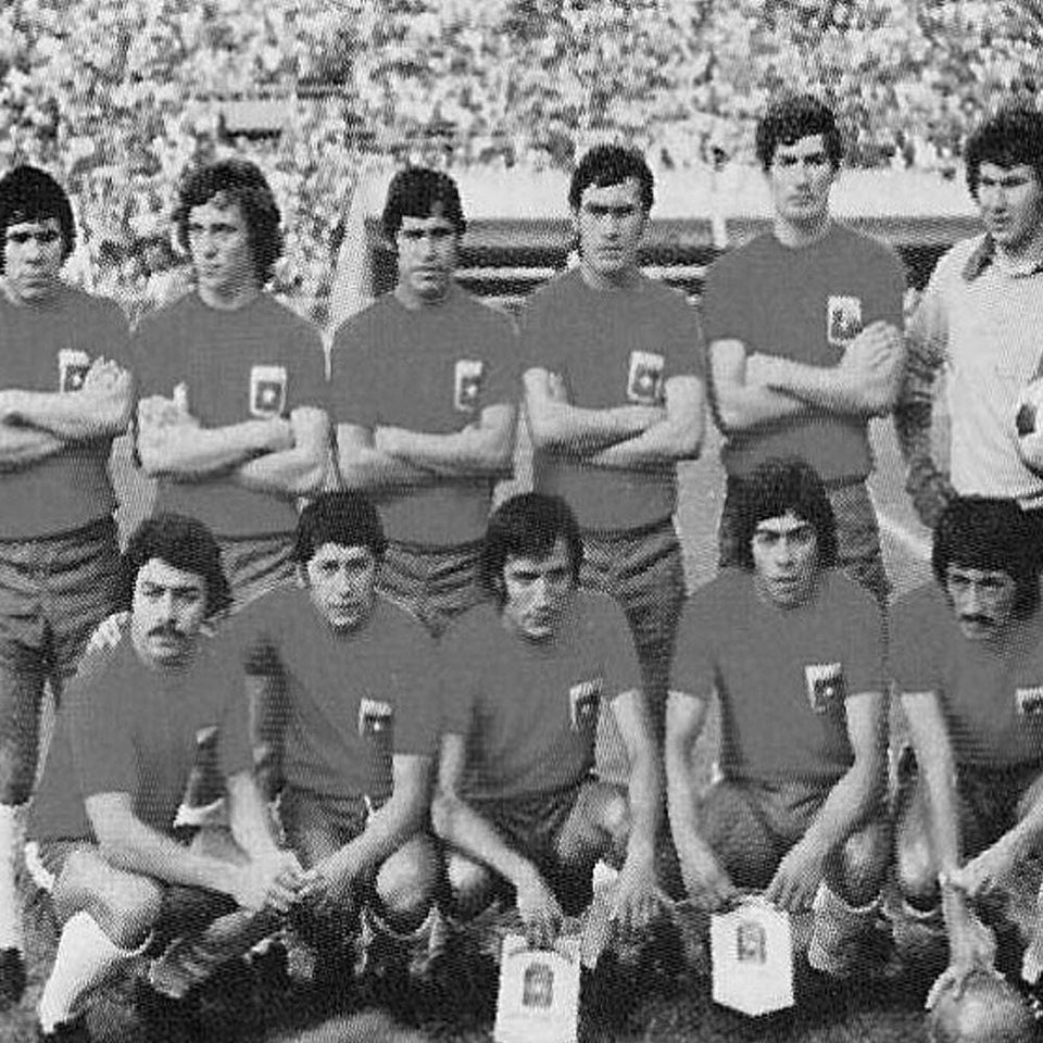 1974 Chile World Cup Historical Jersey Photo