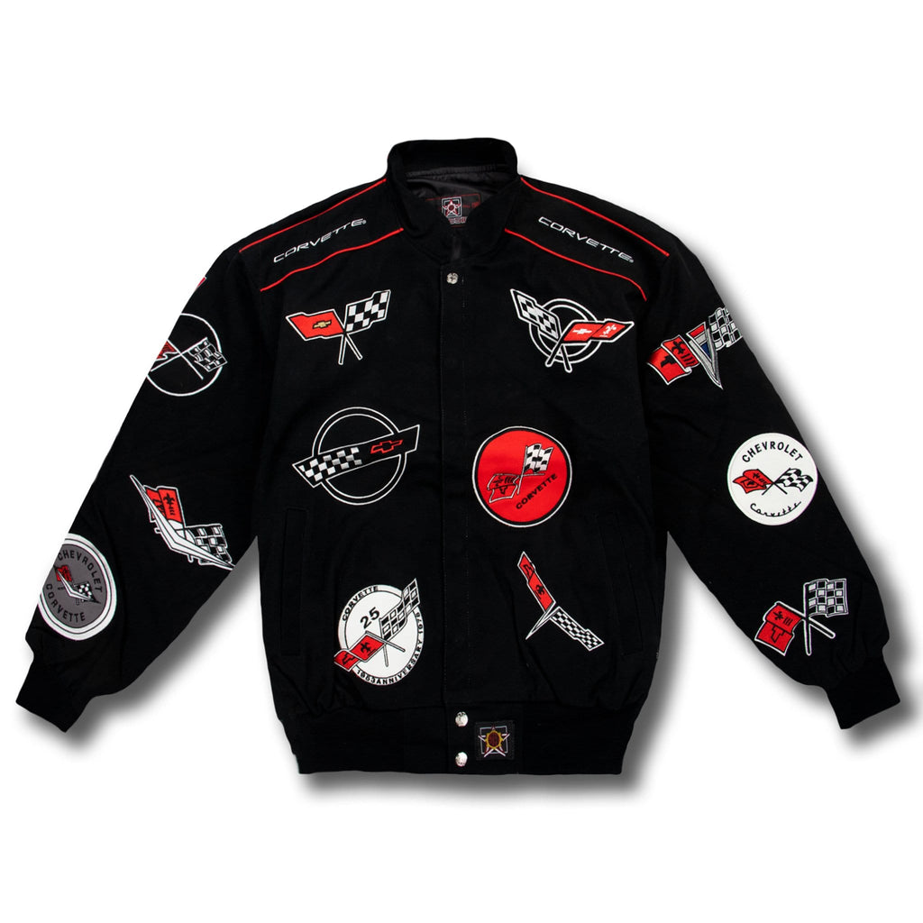 Corvette 50th year anniversary NASCAR jacket