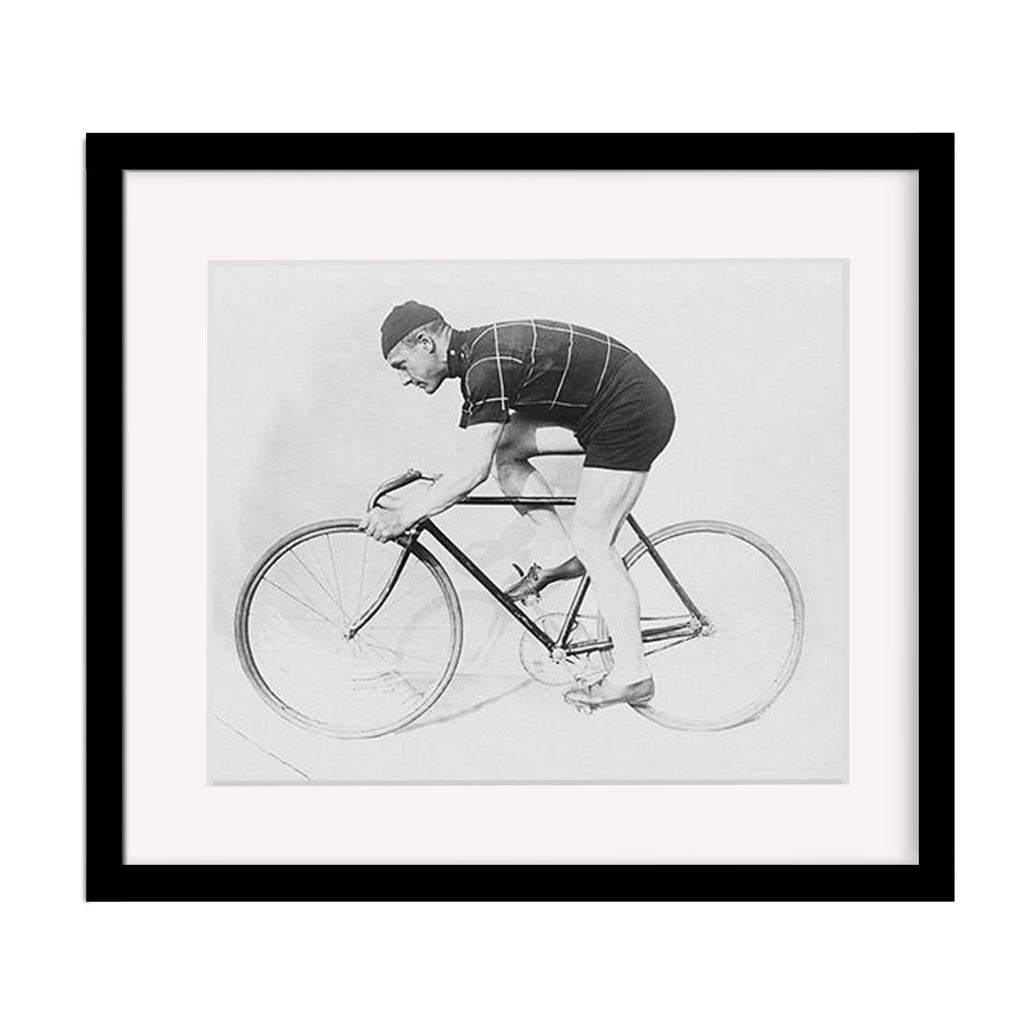 Vintage Cycling Photograph - Norman Anderson