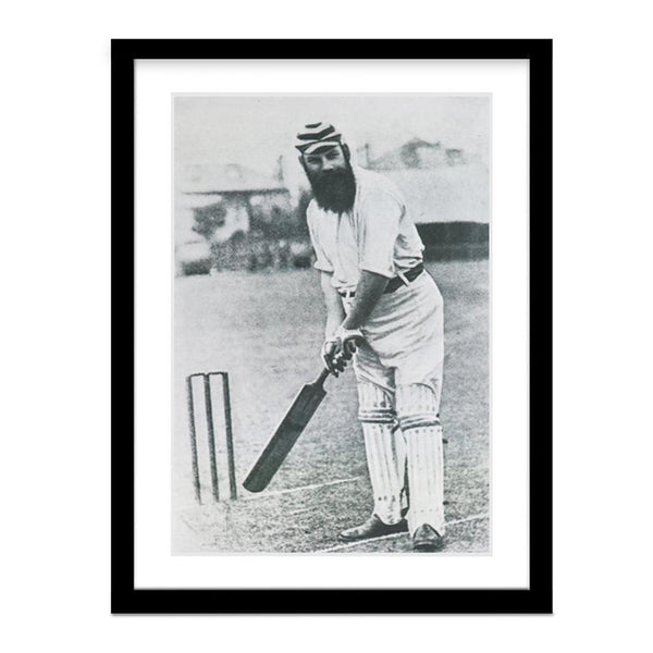Cricket Batting Photo of W.G. Grace