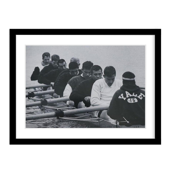 Yale Crew Team Framed Vintage Photo