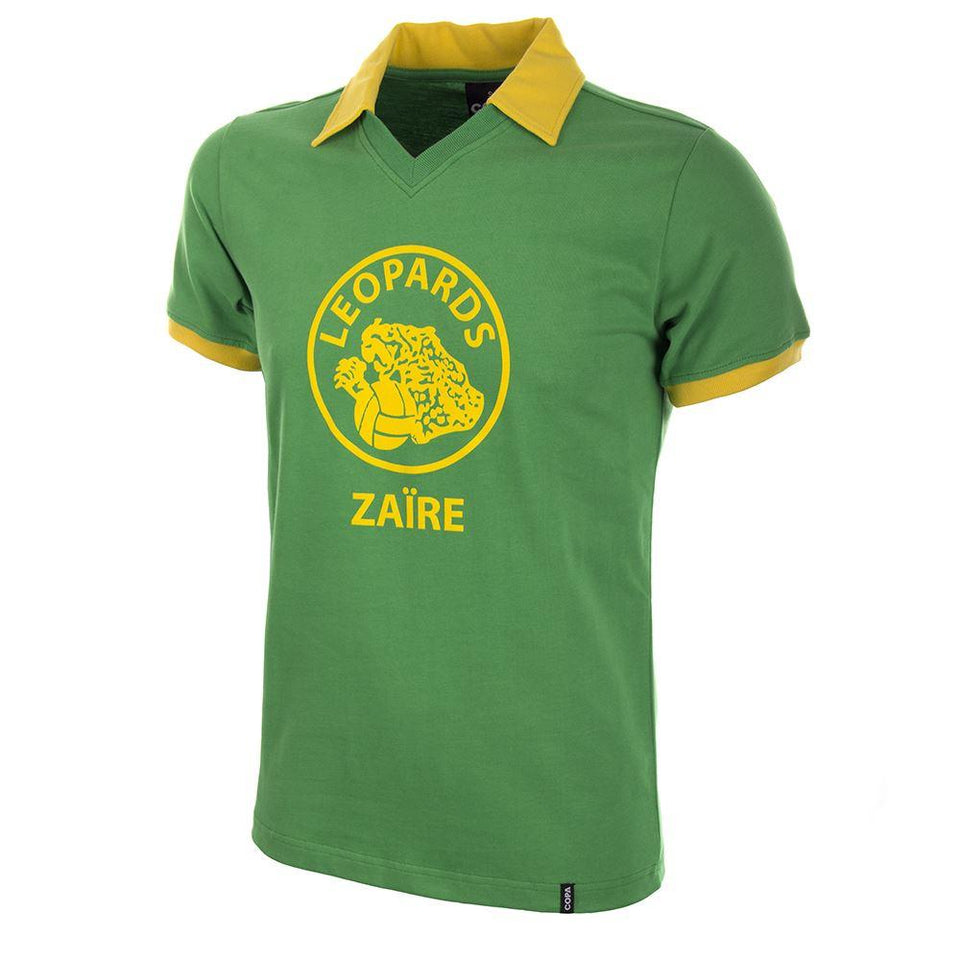 Vintage World Cup Zaire Short Sleeve Shirt 1974