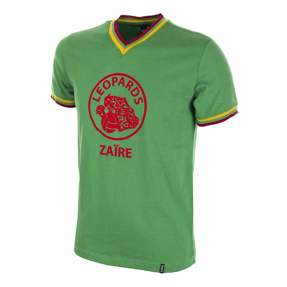 Vintage Zaire World Cup Soccer Shirt 1974