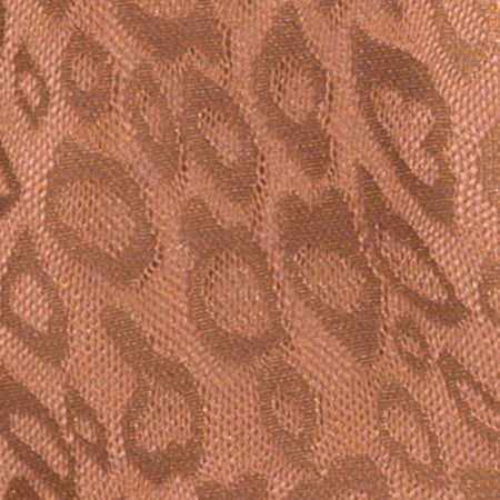 Acro Unitard in Leopard Sheen Net Caramel by Motel