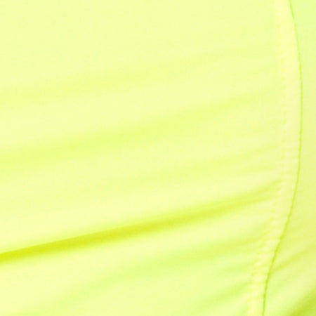 Cycle Short in Neon Yellow by Motel