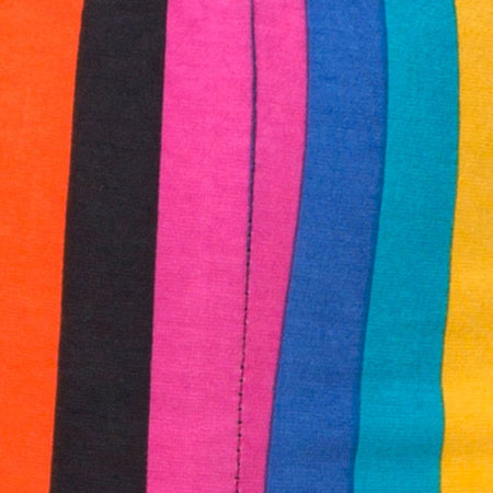 Cycle Short in New Vertical Mixed Stripe by Motel