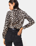 Dimaris Shirt in Oversize Jaguar by Motel