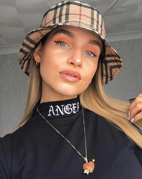 Lara Crop in Black with Angel Embro by Motel