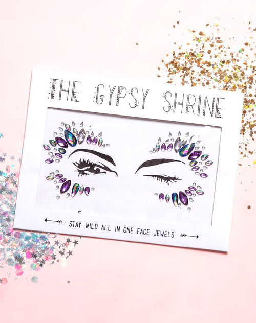 The Gypsy Shrine Stay Wild Face Jewel