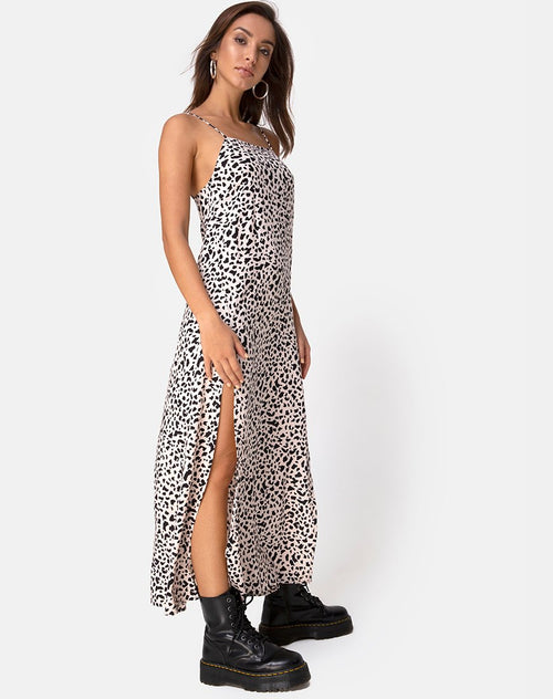 Kayme Maxi Dress in Wild Thing by Motel