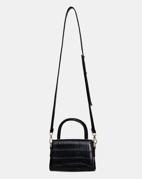 Kenny Micro Bag in Black by Motel