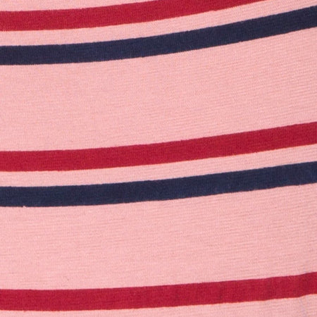 Lucia Bodice in 70's Stripe Pink Horizontal by Motel