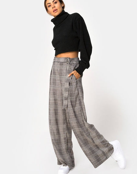 Dastan Trouser in Big Charles Check By Motel