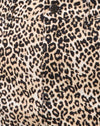 Mini Broomy Skirt in Rar Leopard Brown