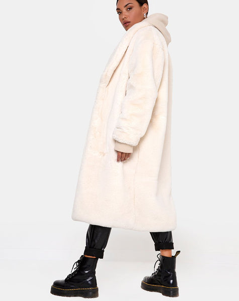Terence Coat in Ivory by Motel