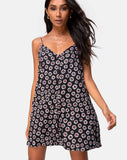 Sanna Slip Dress in Dancing Daisy by Motel