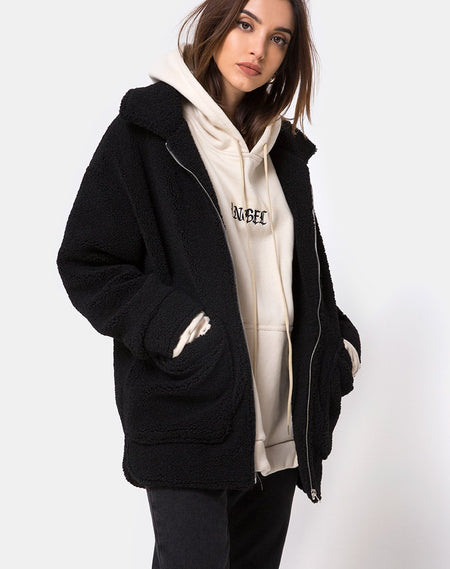Hollack Zip Hoody in Modern Day Romantic by Motel