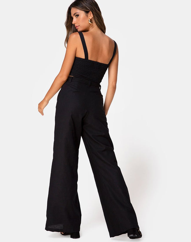 Tanira Trouser in Black by Motel