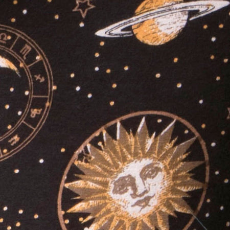 Unitard in Solar System Black by Motel