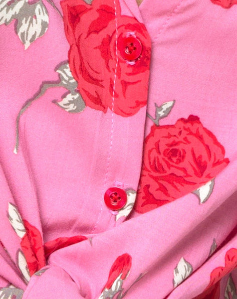 Vual Shirt in Candy Rose by Motel