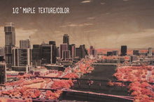 Austin aerial photo, infrared photography, drone photography, aerial city, wood photography
