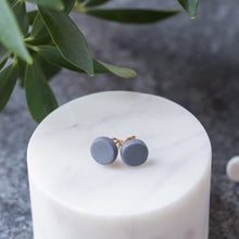 simple clay studs