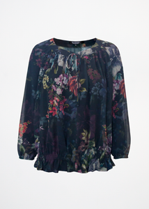 Alicia top Baroque Flowers