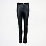 Jenny Trousers Leather/Jersey