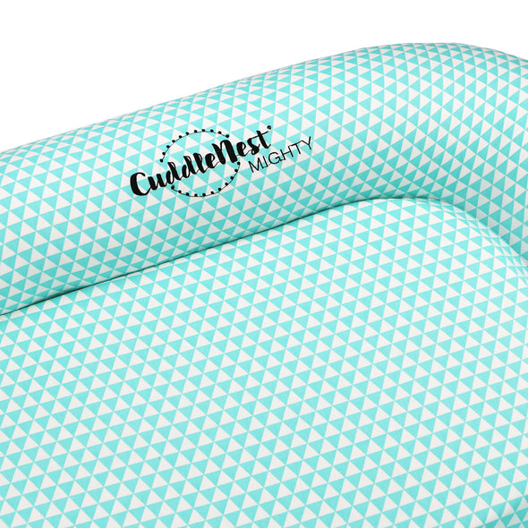CuddleNest® Mighty: Toddler Lounger and Resting Station - for 9-36 Months (Fairy Tale Blue)