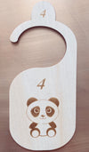 The Original Wood Toddler Closet Dividers