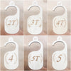The Original Wood Toddler Closet Dividers - The LoLueMade Company®