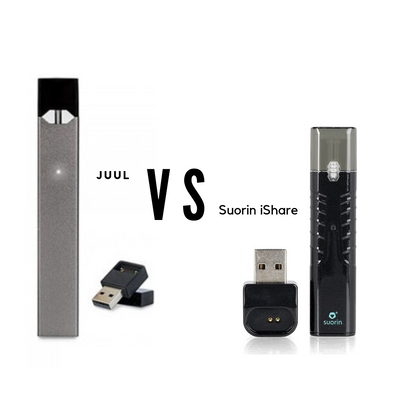 Juul VS Suorin IShare, Which is Better?