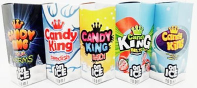 Candy King On ICE Eliquid 100ml - Mystical Vapes