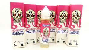 Strawberry Lechoso By Sugar Skull Eliquid 60ml - Mystical Vapes