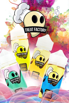 Air Factory - Treat Factory Eliquid 100ml - New Flavors - Mystical Vapes