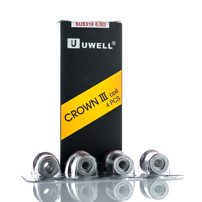UWELL Crown 3 Replacement Coils ( Multiple options ) 4 pack - Mystical Vapes