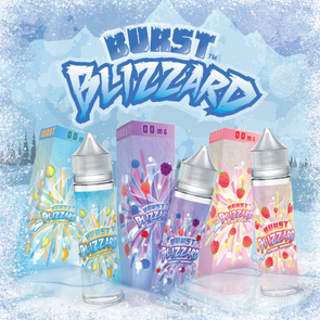 Burst Blizzard Eliquid - 60ml - Mystical Vapes